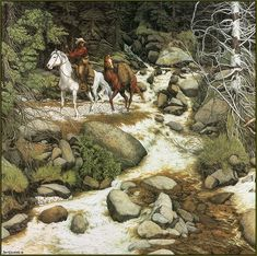 My favorite.. Bev Doolittle  I had this picture at one time...