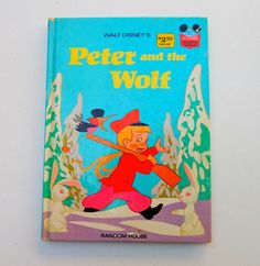 1970's Walt Disney's Peter and Te Wolf by GiddyGirlVintage on Etsy