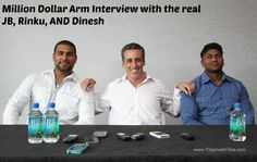 Million Dollar Arm Interview with the real JB, Rinku, AND Dinesh #MillionDollarArmEvent
