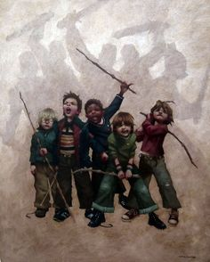 ShaDow... No ...I'm Spartacus!! Art By Craig Davison....