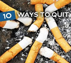 Quitting is not just about nicotine patches and hypnosis. If you have tried quitting before or are just getting ready to, you need to take a look at these helpful tips that will help you stop for good!