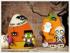 SVG Cuts Spooky Cuties Halloween Cards - www.happylifecraftywife.com