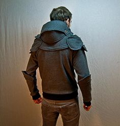 Suit of armour hoodie by Chad Dillon