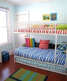 Best Bunk Beds For The Basement On Pinterest Bunk Rooms Bunk 640 x 480