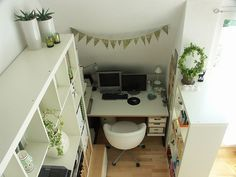 contemporary home office by Domestic Stories with Ivy
