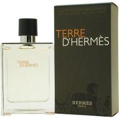 Hermes Terre D`hermes Eau de Toilette Spray for Men, 3.4 Fluid Ounce $80.74 (save $9.26)