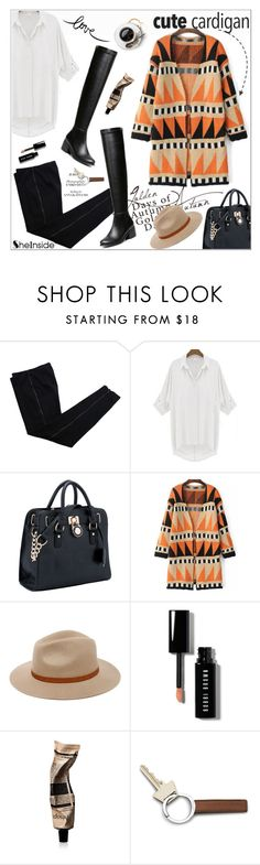 """""""My Favorite Cardigan"""" by aurora-australis ❤ liked on Polyvore featuring COSTUME NATIONAL, Billabong, Bobbi Brown Cosmetics, Aesop, Georg Jensen, Sheinside, polyvoreeditorial and mycardi"""