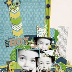 Sweet Shoppe Designs :: Digital Scrap Kits :: Snips & Snails by Melissa Bennett & Amber Shaw