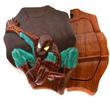 Spiderman Wooden Puzzle Box