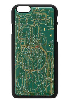 """どこかで見たこの絵柄。そう、""""アレ""""です。 印刷ではなく、機械を制御する「プリント基板」メーカーが作った本物の基板"""