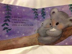 """""""Un beso antes de dormir"""" de Teresa Tellechea. Mamá y bebé Koala"""
