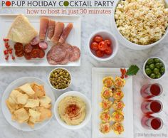 Holiday Cocktail Party In 30 Minutes #PopUpParty