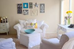 Little miss momma blog - walls and cozy seating