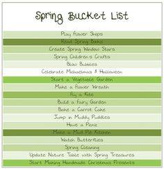 Fun things to do as a family in the spring