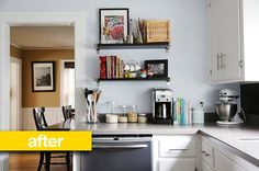 Kitchen Before & After: A Yellow 1970s Kitchen Gets a Crisp, Clean New Look — Reader Kitchen Remodel