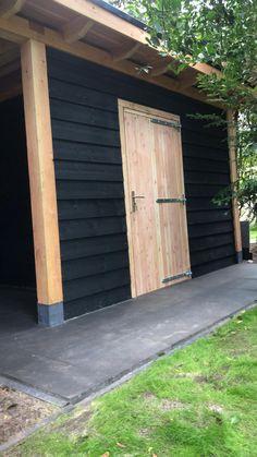 Wooden Cladding Exterior, New Patio Ideas, Carport Sheds, Contemporary Garden Rooms, Backyard Cabin, Garden Furniture Design, Back Garden Design, Shed Homes, Outside Living