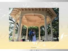 Mike and Leslie married at White Point Gardens, the Battery Park, in the Gazebo Charleston, SC 9/27/12 Real Wedding