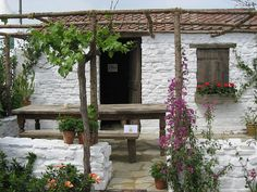 Mediterranean Terrace Garden