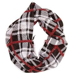 Betsey Johnson Clash Of The Tartans Infinity ($24) ❤ liked on Polyvore featuring accessories, scarves, black, blue by betsey johnson, new arrivals, plaid scarves, black shawl, plaid shawl, black scarves and black infinity scarves