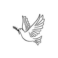 Peace Dove Tattoos, Small Dove Tattoos, Small Angel Tattoo, Tattoo Small, Small Guardian Angel Tattoos, Angels Tattoo, Dove Tattoo Design, Angel Tattoo Designs, Colombe Tattoo