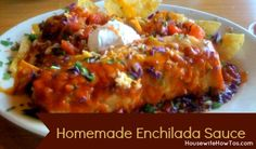 Homemade Enchilada Sauce Recipe - Housewife How-To's®