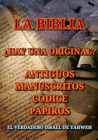 "EL YISRAEL DE YAHWEH: ""LA BIBLIA ORIGINAL"" El Talmud, Bible Translations, Strong Faith, Bible Words, Torah, Alphabet, Hebrew Bible, Bible Scriptures, Free Books"