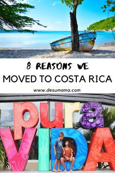 Everything you want to know about moving to Costa Rica with kids. Here are 8 reasons living in Costa Rica with family made perfect sense for us.