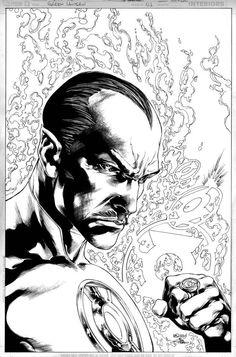 Sinestro by Ivan Reis *