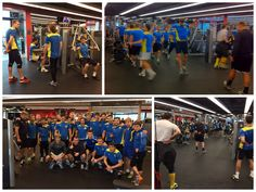 The Russian football team, FC Luch-Energiya Vladivostok dropped into Pure Fitness Lee Theatre Plaza for a quick training session! Happy to have you guys there!