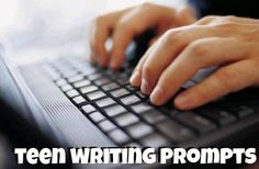83 Teen Writing Prompts - for classroom, homeschool, journaling. Great for adults and bloggers too!  **I have another newer post with 77 More Teen Writing Prompts too http://www.robynsonlineworld.com/2014/08/77-more-teen-writing-prompts/