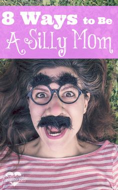 Want to add some giggles and stress-busters to your home ? Try being a silly mom! Too tired to be one? Here are eight ways you can be the silly mom your kiddos want!
