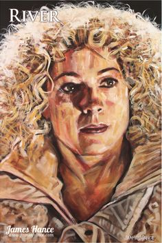 River Song by James Hance. This man does wonderful Doctor Who art.