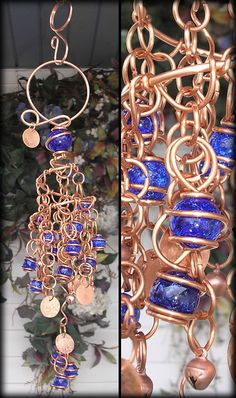 a gorgeous gypsy wind chime created to inspire