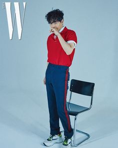 Lee Jin Wook, W Korea, Kdrama Actors, Photoshoot, Action, Pasta, Magazine, Stars, Live