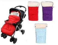 High Quality 3 Colors Stroller Sleeping Bags Sleepsacks for Stroller Infant Fleebag Thick for Winter Artifical Wool Waterproof