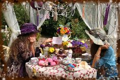 Conversations with the Muses: A Mad Quest for Muchness... and some tea too!