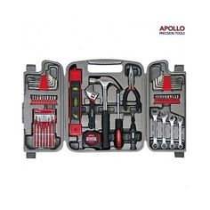 #Apollo #tools 53pc home repair tool kit w/ pliers & socket set. #household diy, View more on the LINK: http://www.zeppy.io/product/gb/2/162030332908/