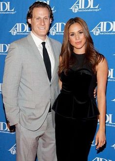Meghan Markle and her ex-husband Trevor Engelson picture