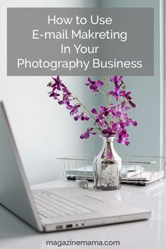 Building and growing an e-mail list for your photography business is one of the best things you can do to grow your photography business.  It's important to plan your approach to email marketing from the start and get strategic with how you'll use your list.  I'm going to share the top 5 ways photographers can use their e-mail list to get clients and grow their influence online. http://www.magazinemama.com/blogs/editors-blog/51048580-5-ways-to-use-e-mails-to-grow-your-photography-business