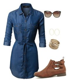 GET YOUR FIRST FIX FREE! LIMITED TIME ONLY!!! - Stitch Fix fashion trends, right to your door. Great for any season or special event. #stitchfix #sponsored #fashiontrends #2018FashionCHAMBRAY DRESS