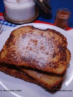 The Dutch Table: Wentelteefjes (Dutch Fried Bread )