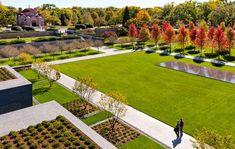 Lakewood Cemetery Garden Mausoleum Landscape by Halvorson Design Partnership