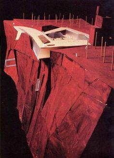 archimodels:  © alsop architects + urbanfish architects - museum of modern art - salzburg, austria - 1998