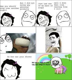 Funny Rage Comics | Funny Rage Comic Soap Pony | Vitamin-Ha