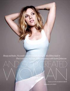 Scarlett Johansson by Rankin for Elle UK February 2013