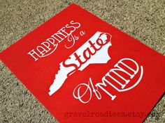 8.5x11 Inch Decorative Poster Print Happiness is by GravelRoadTees, $4.50