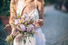 20 meravigliosi bouquet per un matrimonio in estate