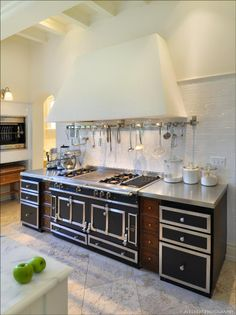 J.S. Eckert Photography ~lovely european kitchen design with La ...