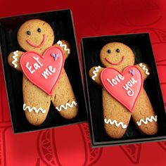Personalized Ginger Cutie cookie card