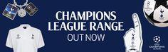 Tottenham Hotspur 2016/2017 Champions League Range. Spurs Shop, Great Team, Tottenham Hotspur, Shopping Websites, Champions League, Range, Tees, Cookers, T Shirts